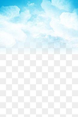 Nuvens Brancas, Céu Azul, Nuvens Brancas, Graphic Design Arquivo PNG.
