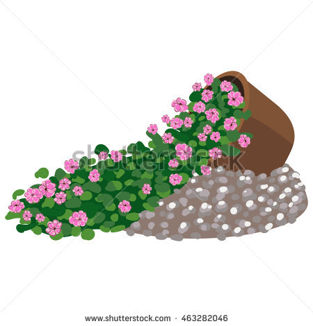 Flowery Bed Stock Photos, Royalty.
