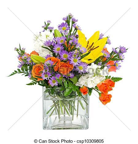 Flower Arrangements Clipart.