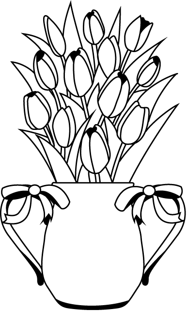 Flower Arrangement Clipart.