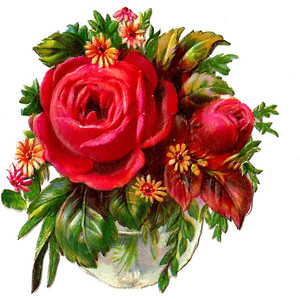 Flower arrangement clip art free.