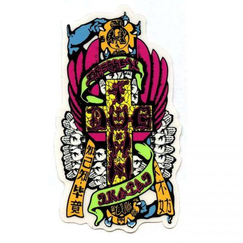 Dogtown Eric Dressen Hands Sticker 4\