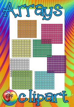 Array Clip Art & Worksheets.