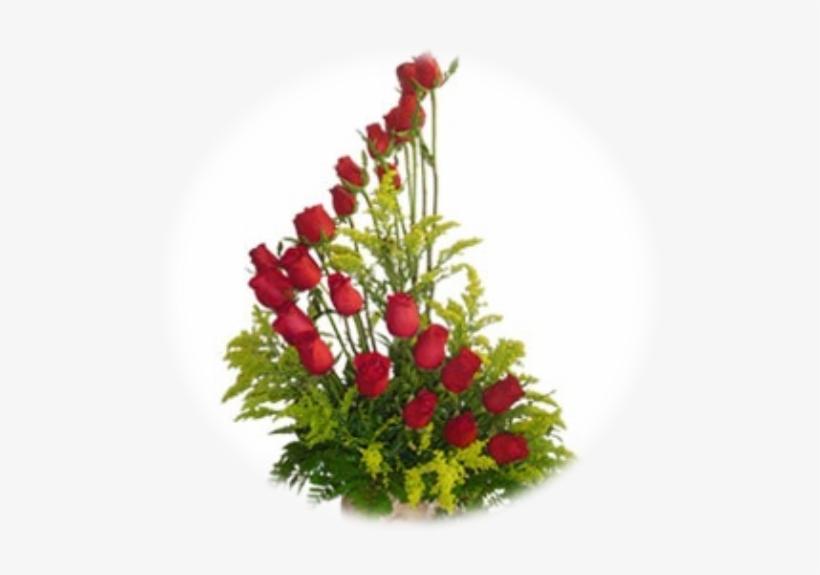 Arreglo De 24 Rosas Rojas.