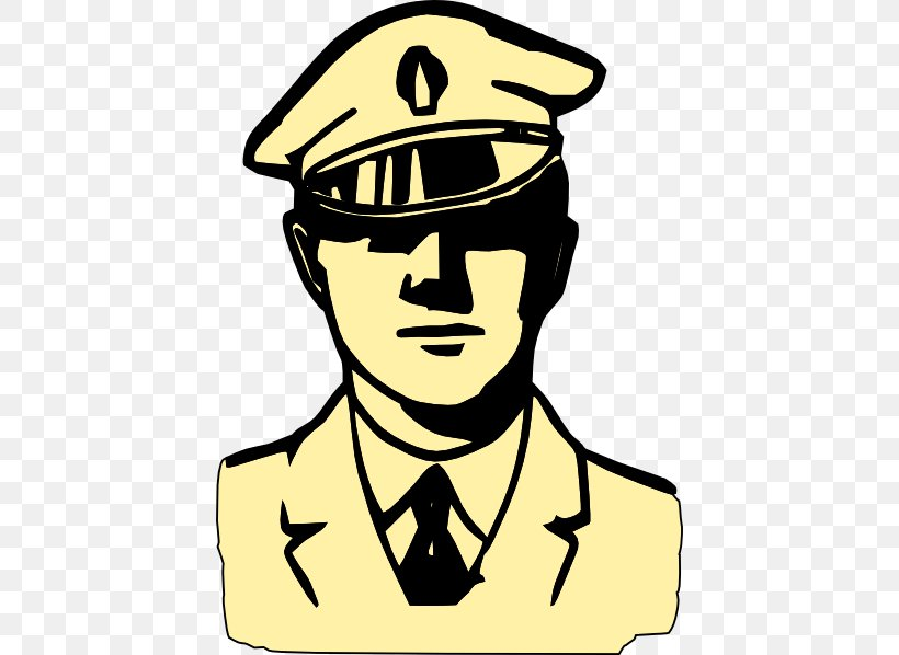 Police Officer Black And White Clip Art, PNG, 426x598px.