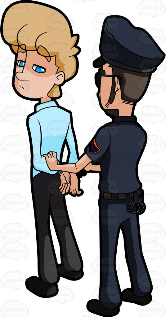 A Man Being Arrested By A Cop #apprehend #apprehension.