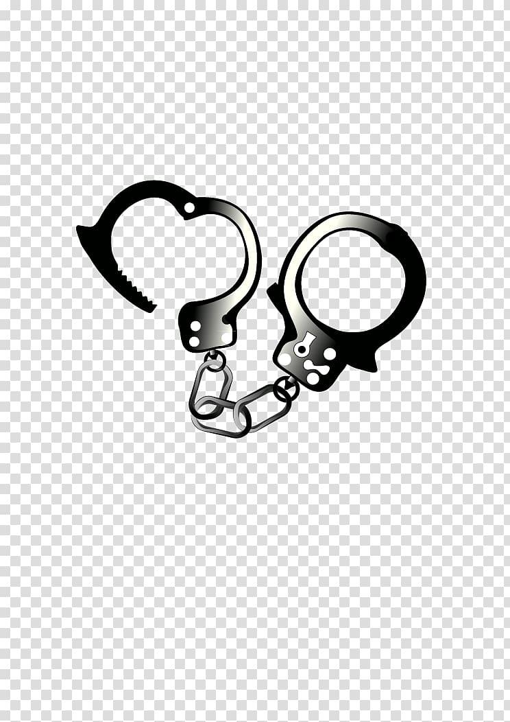 Handcuffs Police , Arrest handcuffs transparent background.
