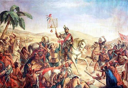 Aztec Vs Inca Clipart.