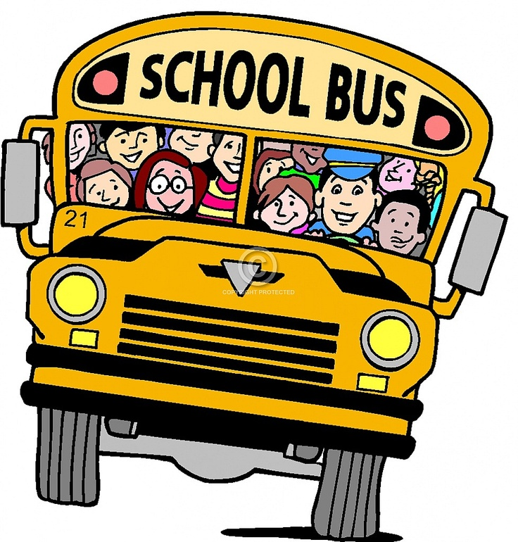 3747 School Bus free clipart.