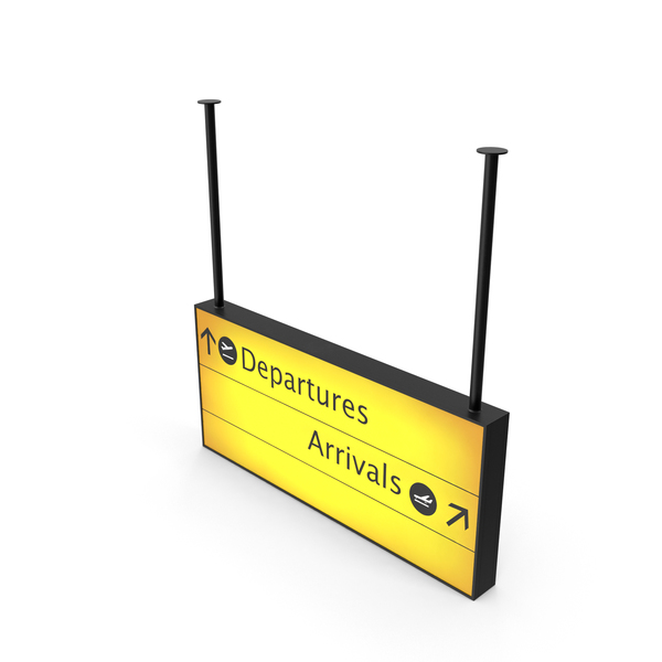 Airport Departure and Arrival Sign PNG Images & PSDs for Download.