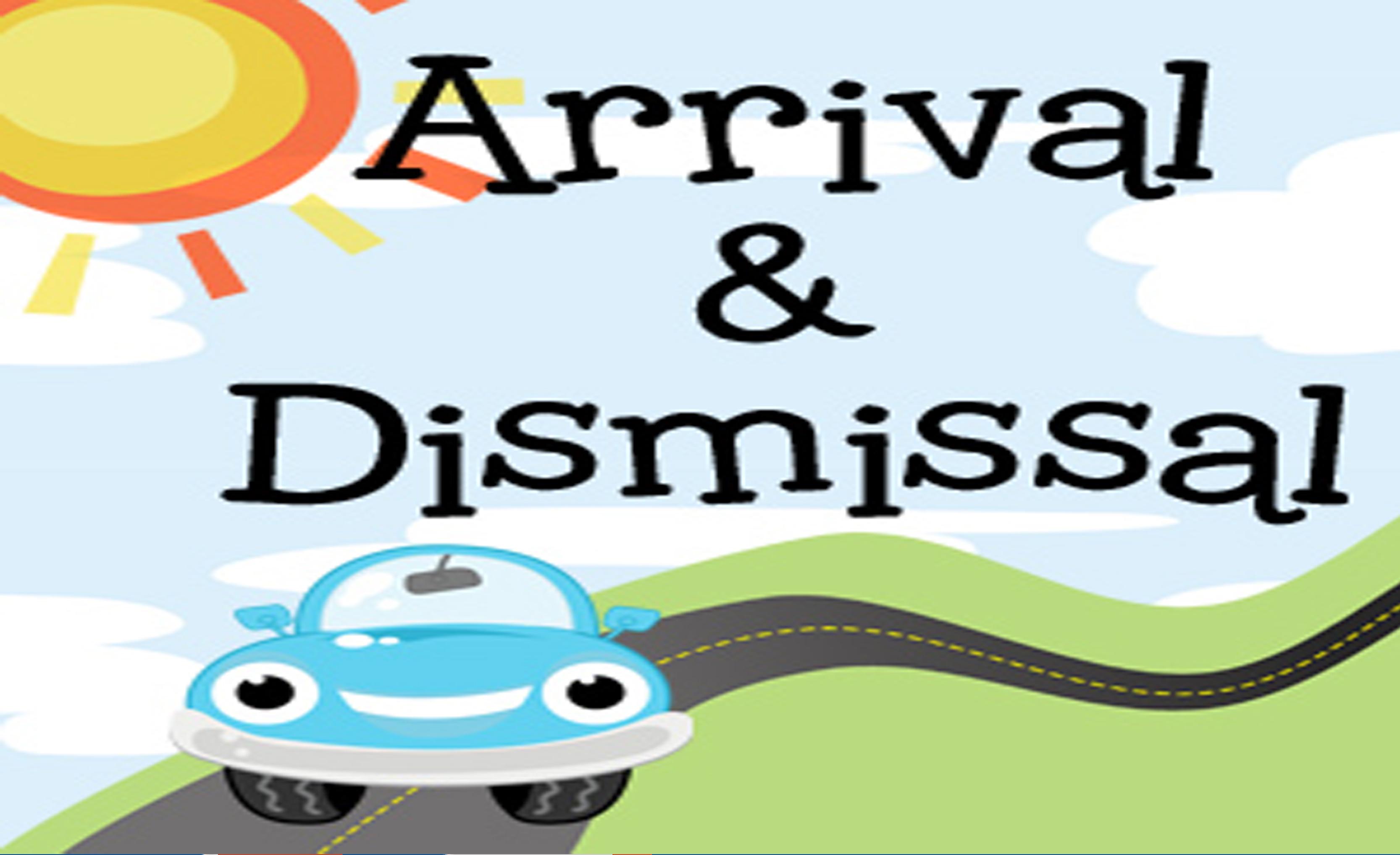 Mrs. Springhetti's 4K: Arrival and Dismissal Times.