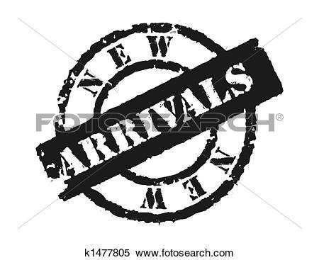 Stock Illustration of Stamp 'New Arrivals' k1477805.