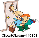 Arrive home clipart.