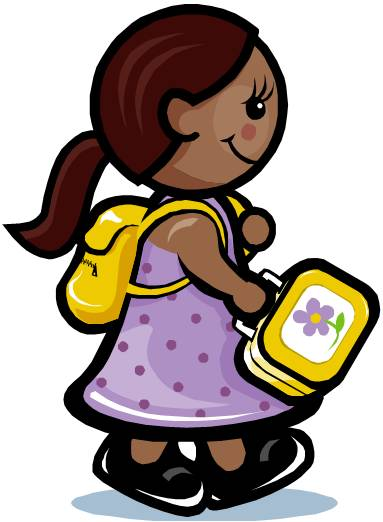 Student Arrival Clipart.