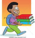 arriving to school clipart #2
