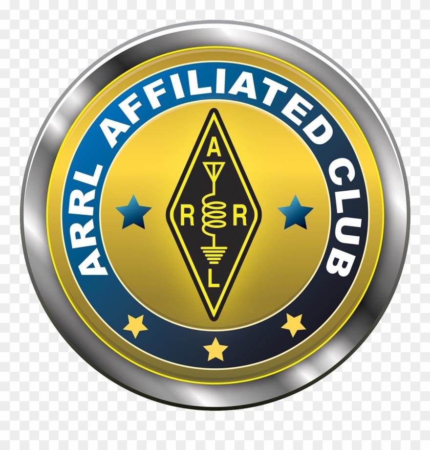Arrl Affiliated Club Seal, Transparent Background.