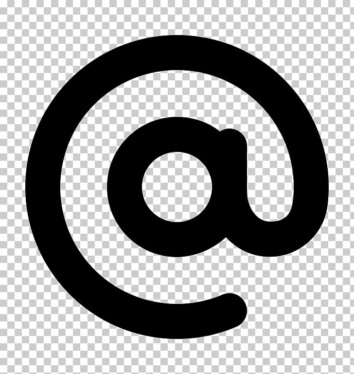 Arroba At sign Information, mention PNG clipart.