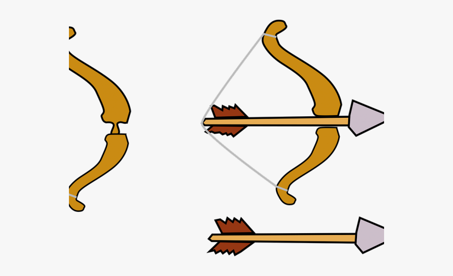 Weapon Clipart Bow Arrow.