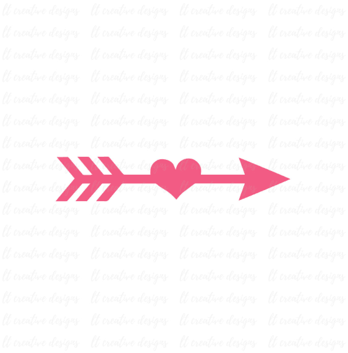 Arrow Clipart Heart.
