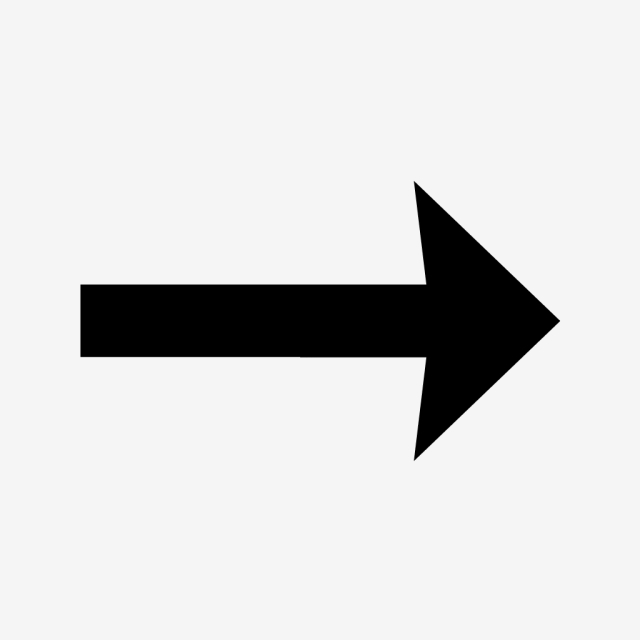 Right Arrow Glyph Black Icon, Right Arrow, Arrow, Right PNG and.