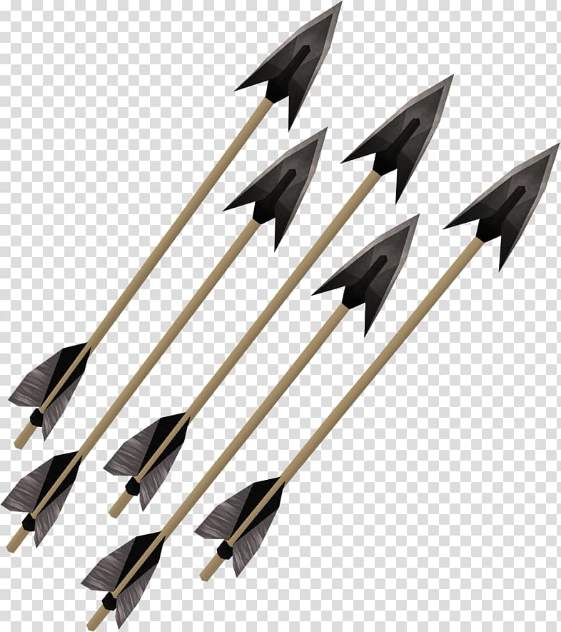 RuneScape Bow and arrow Fletching, arrow bow transparent background.