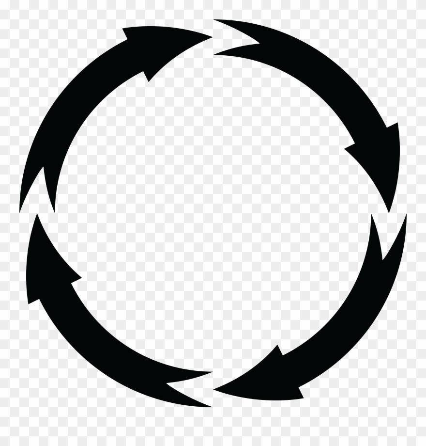 Arrow Clipart Circle.