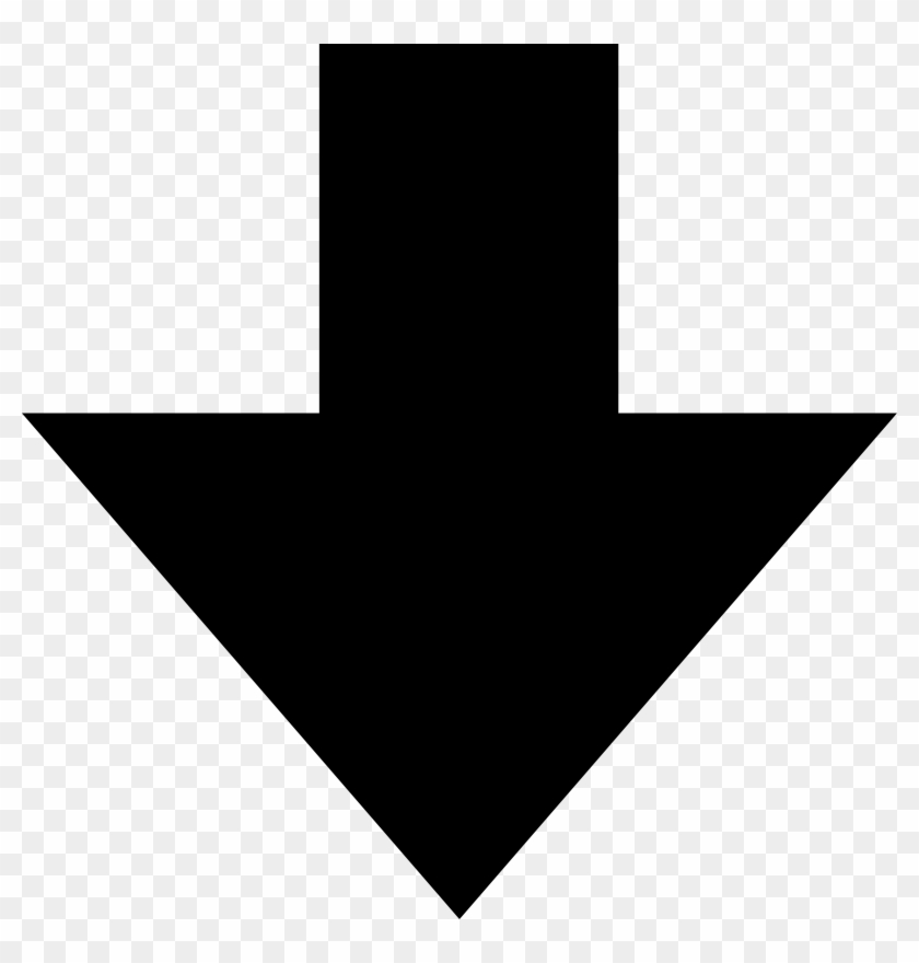 Down Arrow Clipart Black And White.