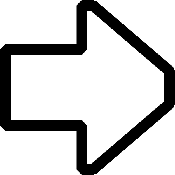 Directional arrows up right black arrow clip art free vector in open.