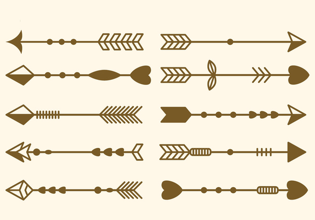 Free Set Of Arrow Clip Art Vector Illustration Free Vector Download.