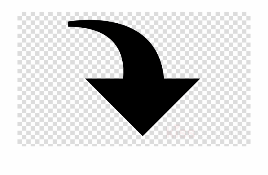 Curved Down Arrow Clipart Arrow Clip Art.
