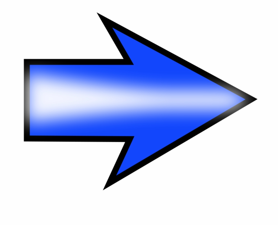 Arrow Clip Art Png Bbcpersian7 Blue Arrow Pointing.