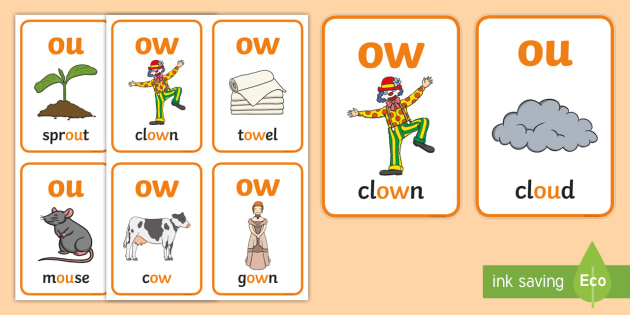 My ow Sound Family Flashcards.