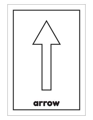 Arrow clipart flashcards clipart images gallery for free.