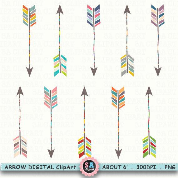Arrows Digital ClipArt \