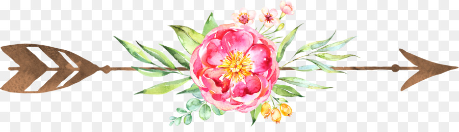 Floral Wedding Invitation Background clipart.