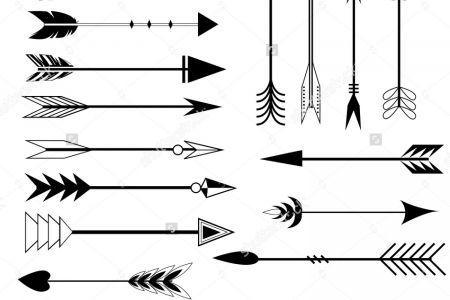 Tribal Arrows Clipart.