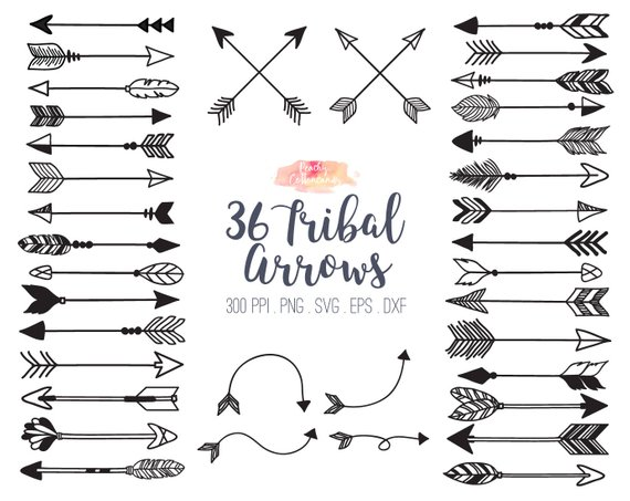 Tribal arrow clipart free 1 » Clipart Station.