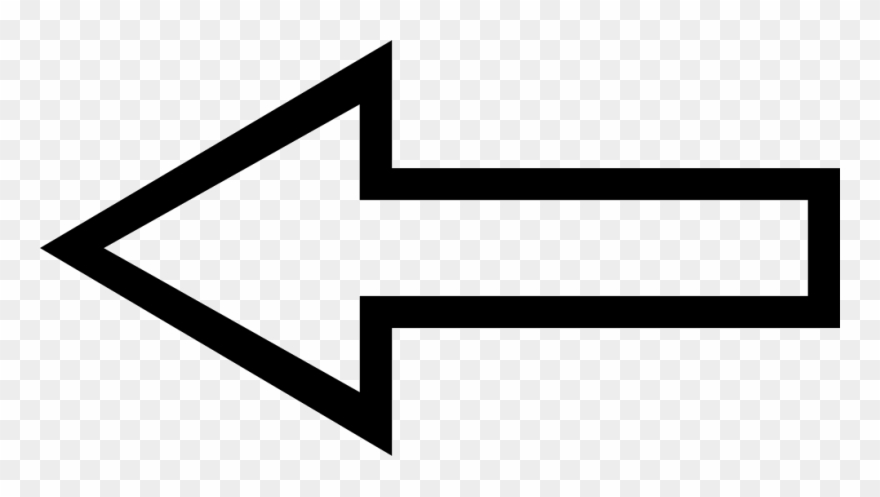 Left Arrow Outline Svg Png Icon Free Download 72018.