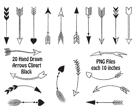 Free Tribal Arrow Clipart Black And White, Download Free.
