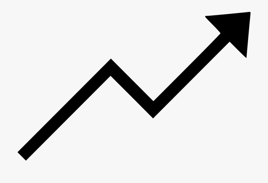Clip Art Trending Increase Svg Png.