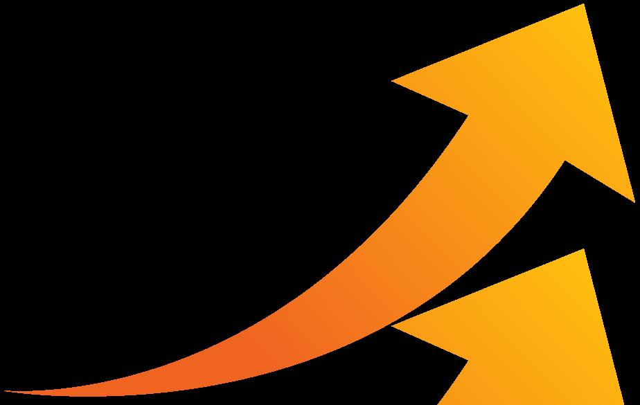 Clipart arrows growth, Clipart arrows growth Transparent.