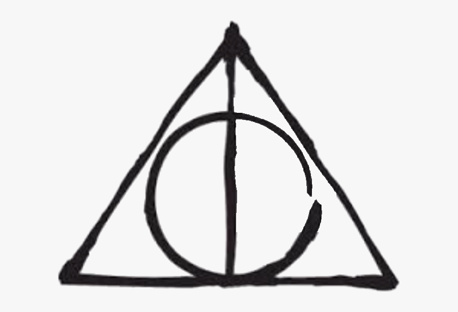 Harry Potter Deathly Hallows Symbol , Free Transparent.
