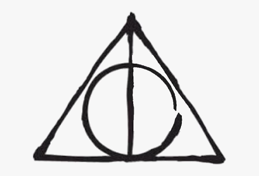 Harry Potter Deathly Hallows Symbol , Free Transparent.