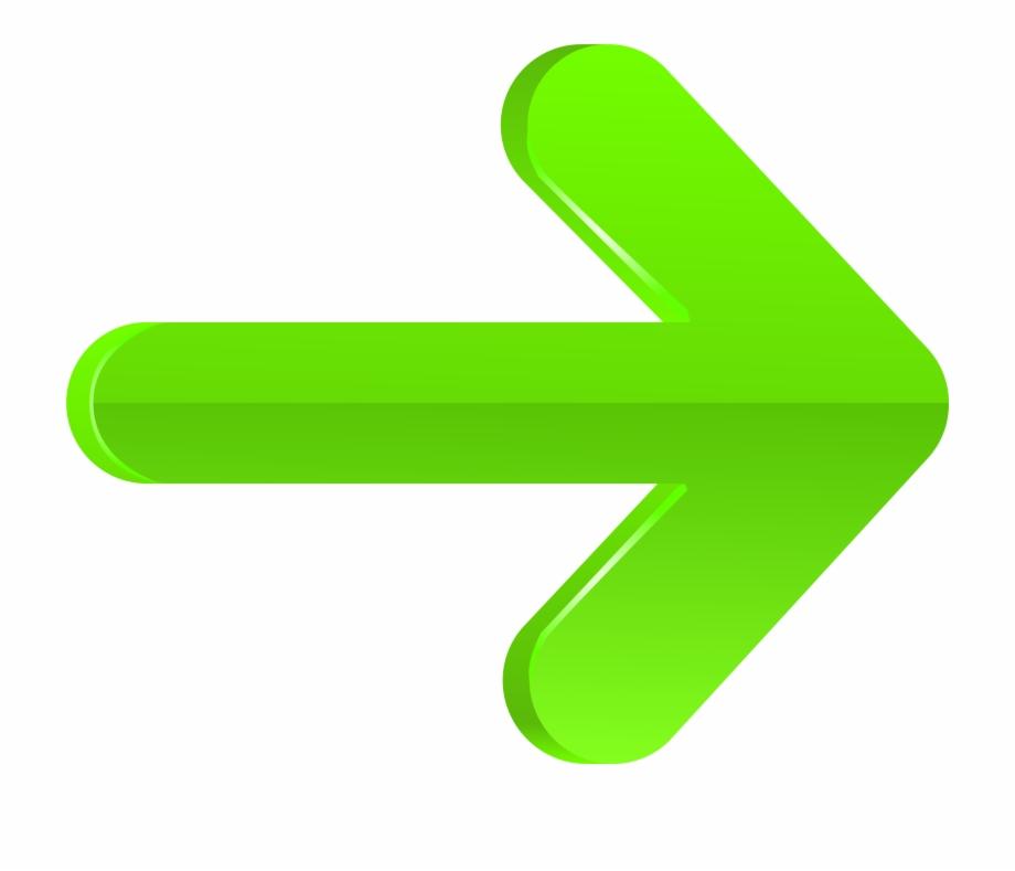 Arrow Right Green Png Transparent Clip Art Imageu200b.