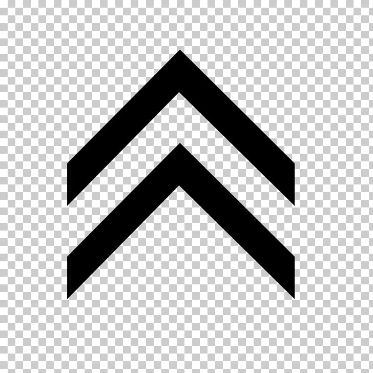 Logo Graphic design, up arrow, two black upward arrows art.