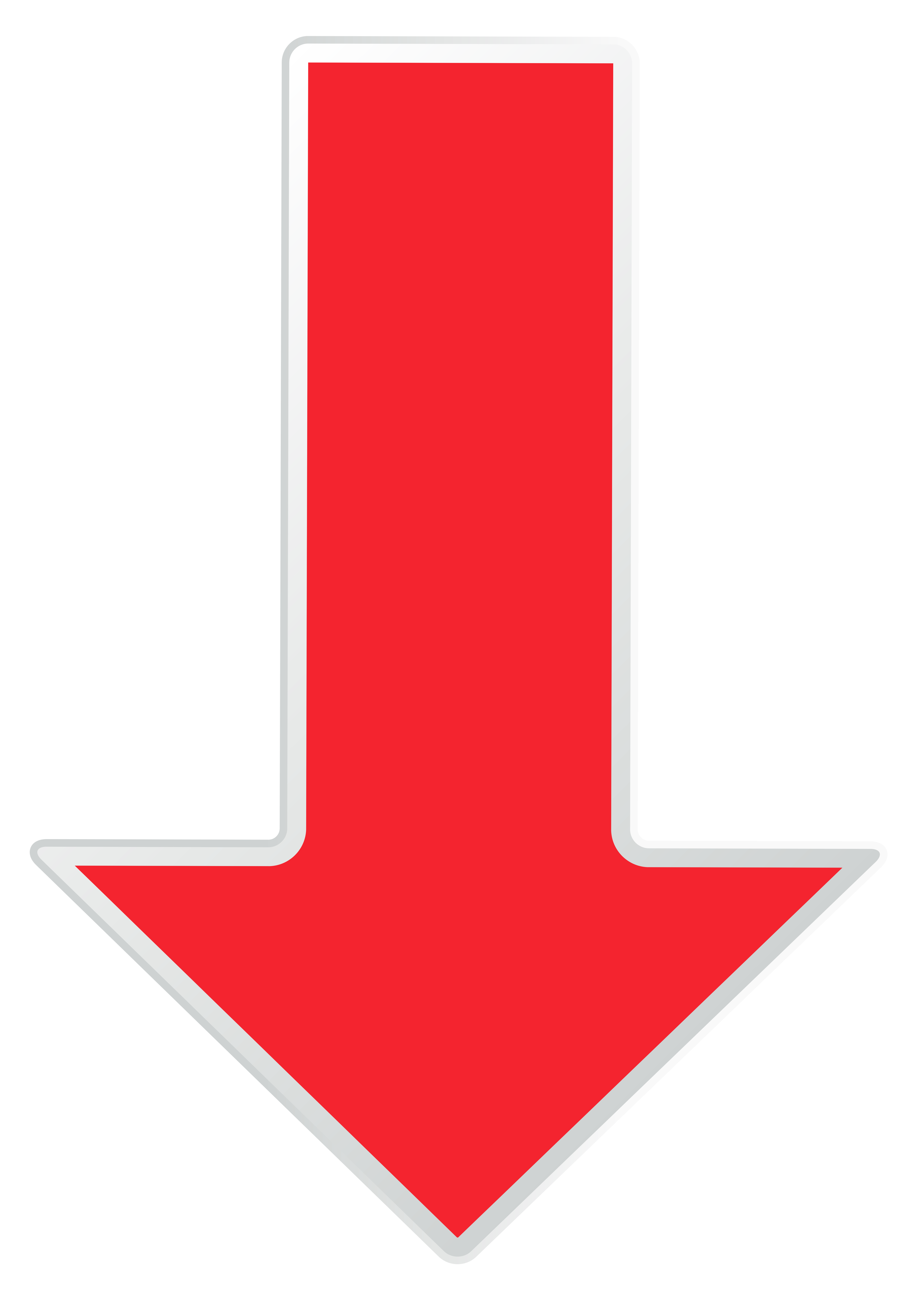Down arrow arrow red down transparent clip art image.
