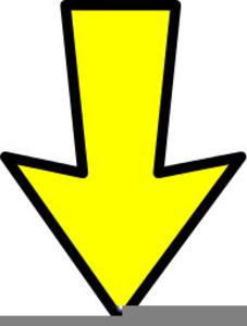 Arrow Down Clipart.