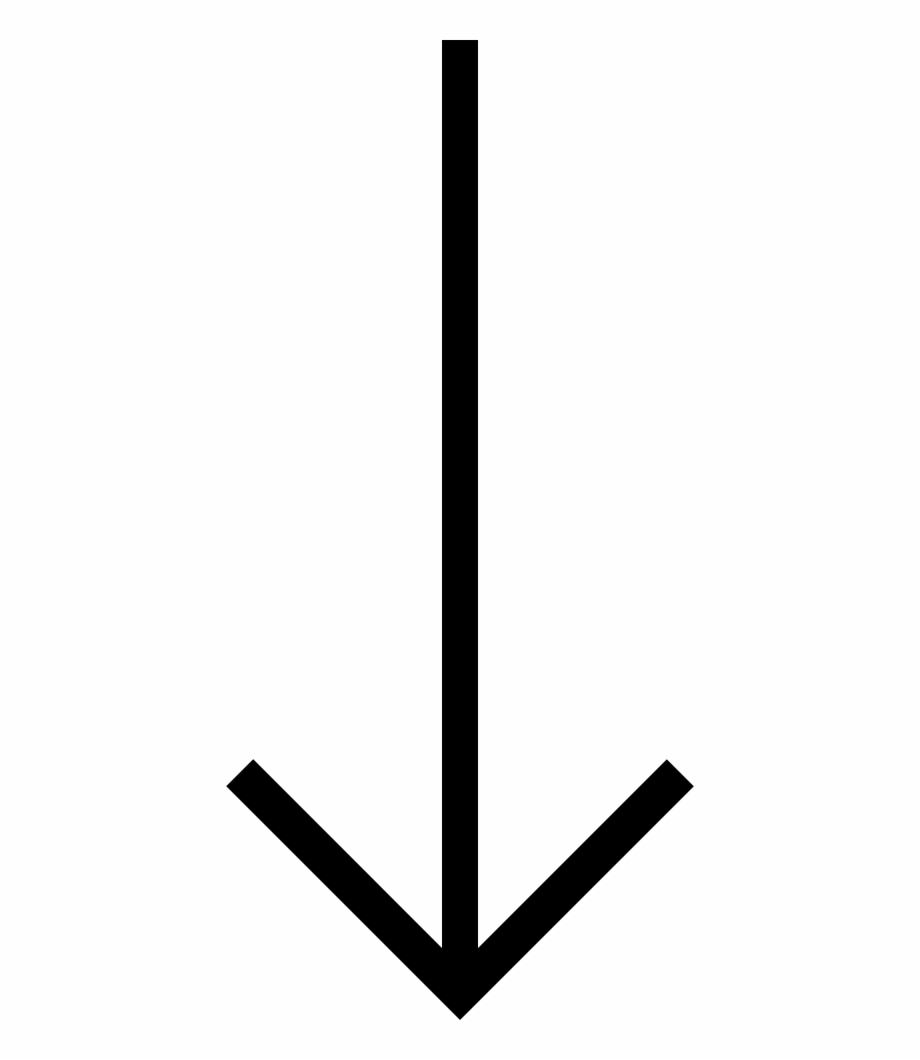 Long Arrow Down Comments.