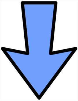 Down Arrow Clipart.
