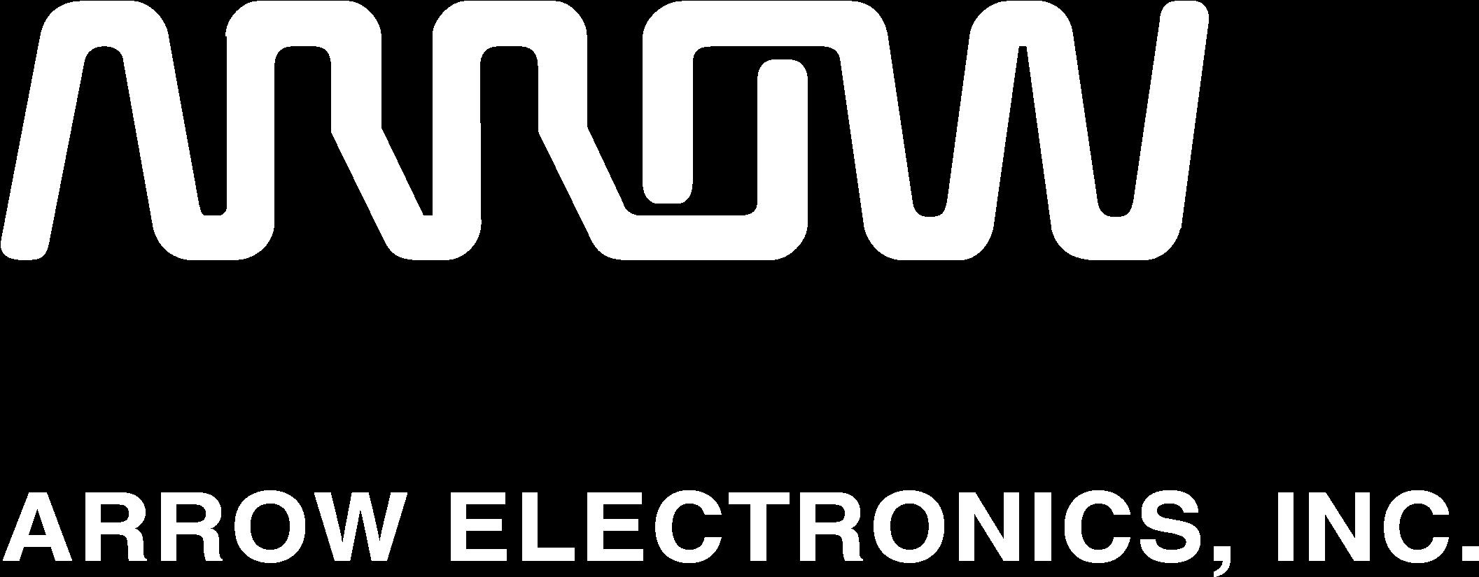 Arrow Electronics 01 Logo Black And White Focus.